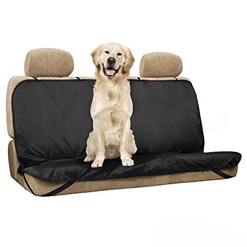 Hunde Autoschutzdecke Hundedecke Autositzschondecke, Auto Schondecke, Hundedecke, wasserfestes, hochwertiges Material, schwarz, 130 X 100cm