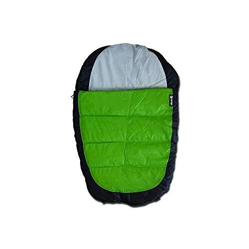 Alcott BBL EX LG SB Schlafsack, Größe L, grün-grau