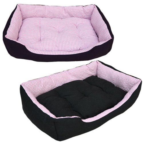 Tierbett Hundebett Katzenbett Tierkissen Slim M Pink