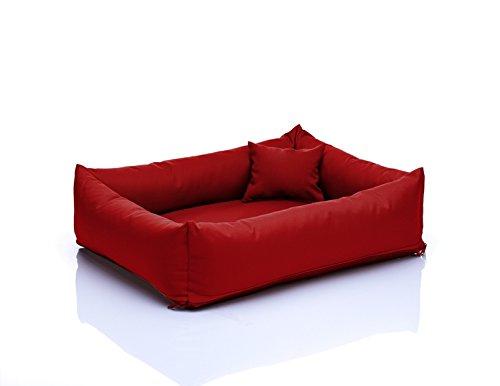 Saba Hundebett Hundesofa M 65x80 Nr.11 Rot