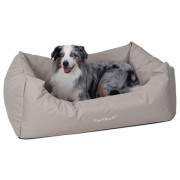 Knuffelwuff Pflegeleichtes Hundebett Finlay XXXL 155x105cm - Beige