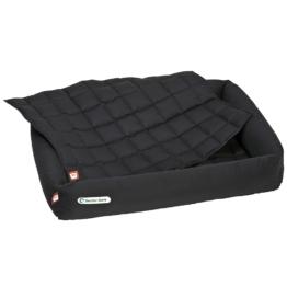 Doctor Bark | Einlegedecke zu Bett schwarz | L 80 x B 60 cm