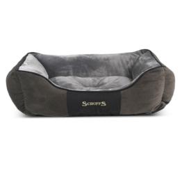 Scruffs Hundebett Chester Box Bed Grau - XL
