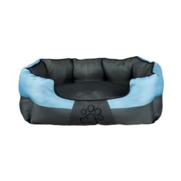 Trixie Hundebett Patty grau/blau - 50 x 40 cm