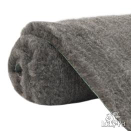 Lucky-Pet Supervlies grau 100 x 75 cm