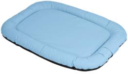 Knuffelwuff | Lucky blau | L 100 x B 73 x H 12 cm